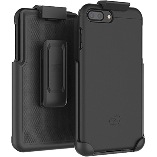 Encased SlimShield Series Case with Holster for iPhone 7 Plus (Black)