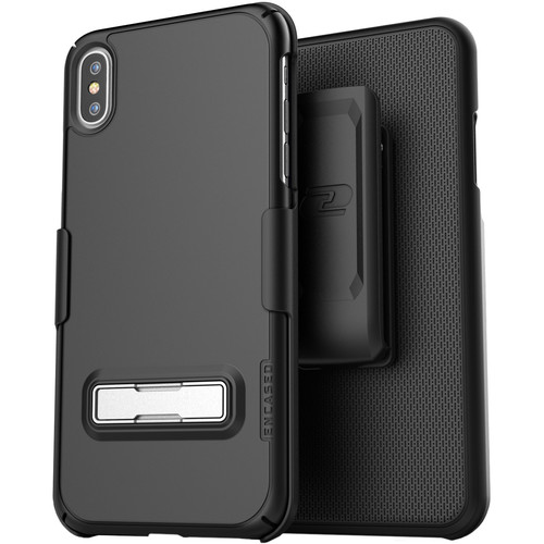 Encased Slimline Case with Belt Clip Holster for iPhone XS Max