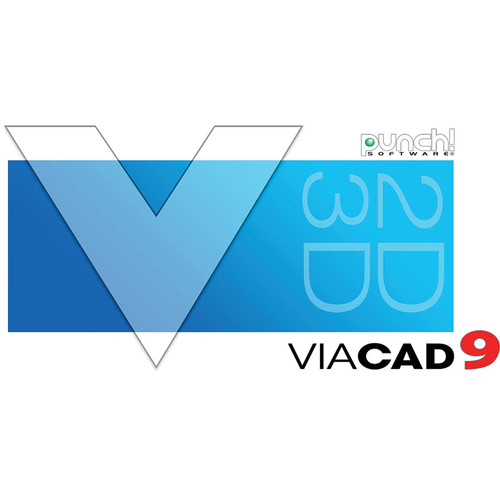 Encore Punch! ViaCAD 2D/3D v9 for Mac (Download)