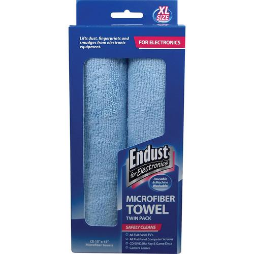Endust Microfiber Towel Twin Pack (XL)
