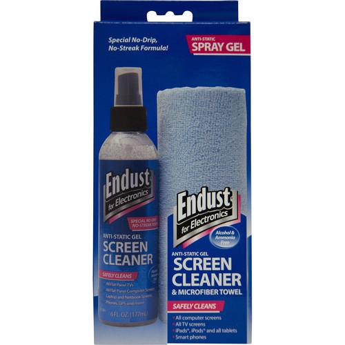 Endust 6 oz. Anti-Static Gel LCD & Plasma Screen Cleaner with Microfiber Towel