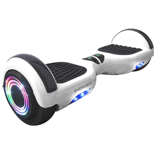 ENERGEN ENERGEN B651 Self Balancing Scooter with Bluetooth Speaker (White)