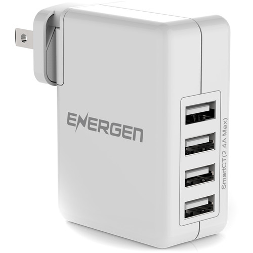 ENERGEN WC410 4-Port USB Wall Charger (2-Pack)