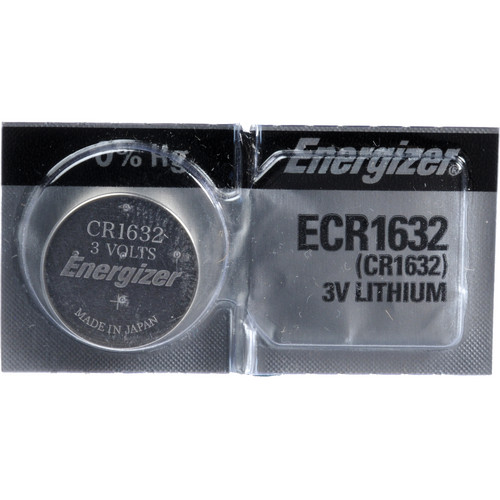 Energizer CR1632 Coin Lithium Battery (3V, 130mAh)