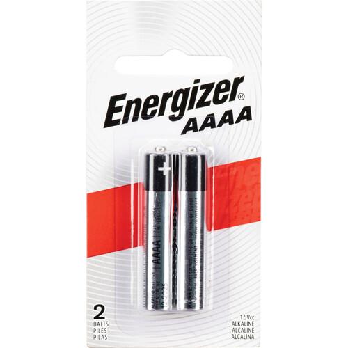 Energizer AAAA/E96 1.5V Alkaline Batteries (2-Pack)