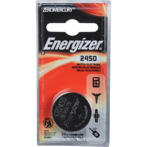 Energizer CR2450 Coin Lithium Battery