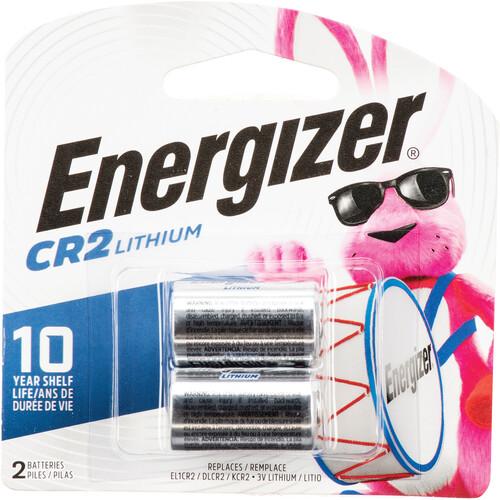 Energizer CR2 3V Lithium Battery (2-Pack)