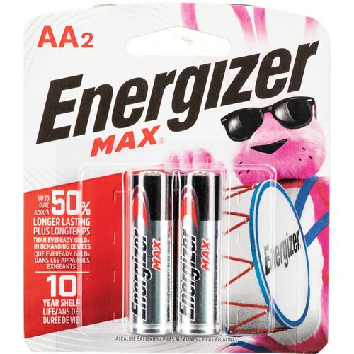 Energizer Energizer Max AA Alkaline Batteries (2-Pack, 1.5V)