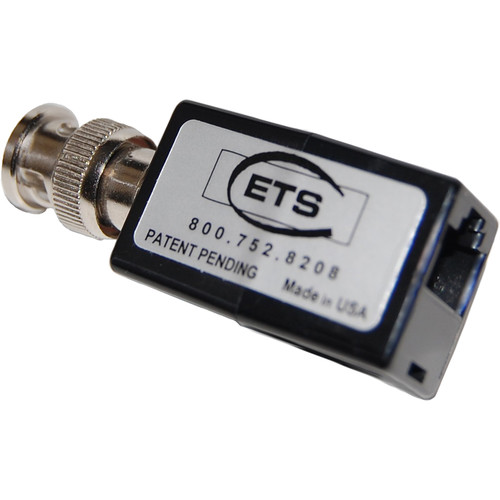Energy Transformation Systems DS3 Balun (BNC Male to RJ45 Female, Pins 4 & 5)