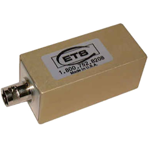 Energy Transformation Systems Serial Digital Video Media Converter (FBNC to RJ45 Pins 4, 5)