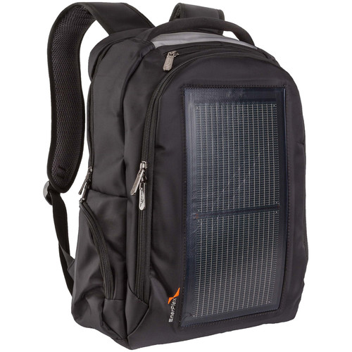 EnerPlex Packr Commuter Solar-Powered Charging Backpack (Black)
