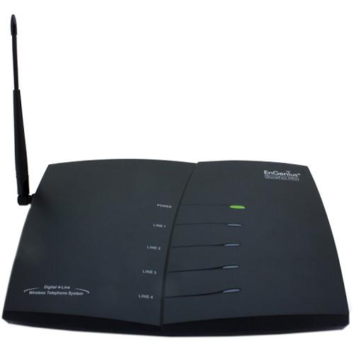 EnGenius DuraFon PRO Long-Range Multi-Line Expandable Cordless Phone System (Base Unit Only)