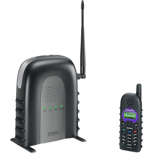 EnGenius DuraFon-SIP System Long-Range SIP Cordless Phone System