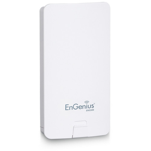 EnGenius ENS500 High-Powered, Long-Range 5 GHz Wireless N300 Outdoor Client Bridge