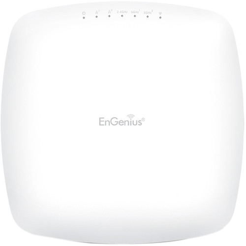 EnGenius Wi-Fi 5 Wave 2 Tri-Band Managed Indoor Wireless Access Point