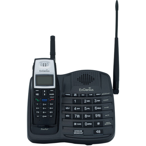 EnGenius FreeStyl 1 Scalable Cordless Phone System with 1 Handset