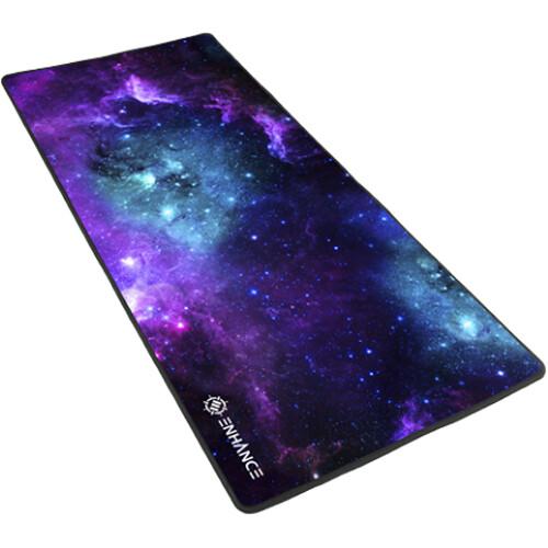 "Enhance Pathogen XXL Fabric Mouse Pad 31.5x13.75"" (Galaxy)"