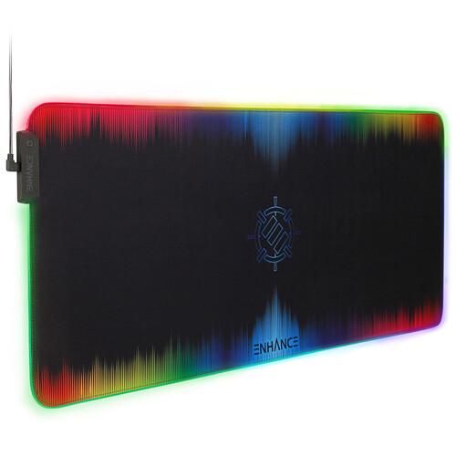 Enhance Pathogen XXL Illuminated Large Mouse Pad (Multi-Color)