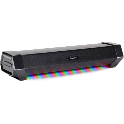 Enhance ATTACK Under-Monitor Soundbar with Multicolor LEDs