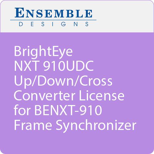 Ensemble Designs BrightEye NXT 910UDC Up/Down/Cross Converter License for BENXT-910 Frame Synchronizer