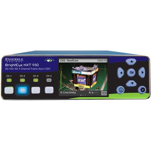 Ensemble Designs NXT 950 4-Channel SDI Frame Sync & U/D/C