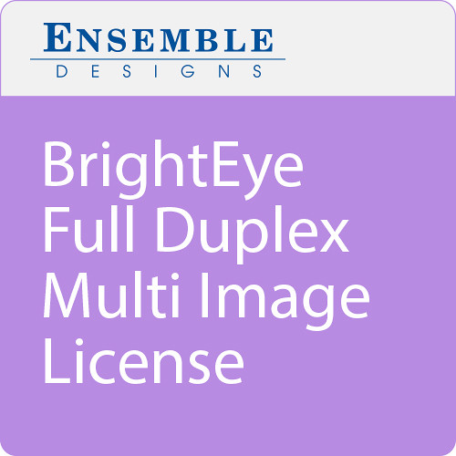 Ensemble Designs BrightEye Full Duplex Multi Image License