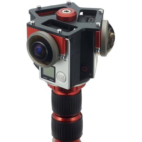 Entaniya Fisheye Rig for Three GoPro HERO4 Black Cameras