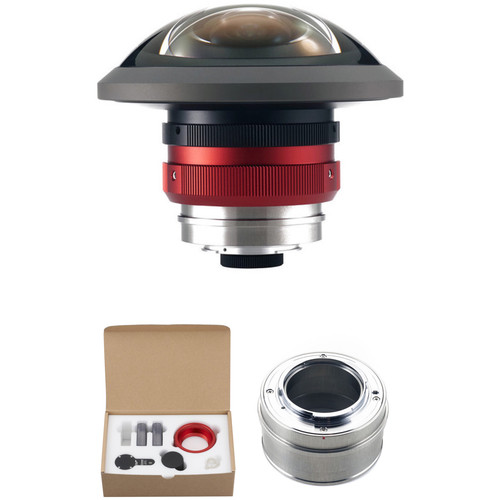 Entaniya Hal 250° Extreme-Fisheye Lens MFT 3.6mm Kit