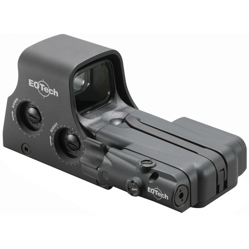 EOTech Model 512 Holographic Sight with Laser Battery Cap 2015 edition (Red Dot Reticle, Black)