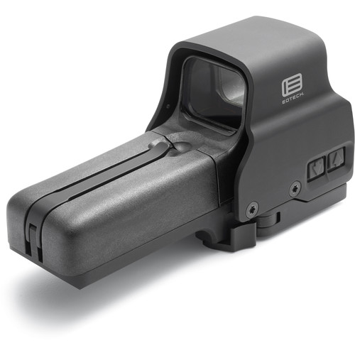 EOTech Model 518 Holographic Sight 2015 Edition (Red Dot Reticle, Black)