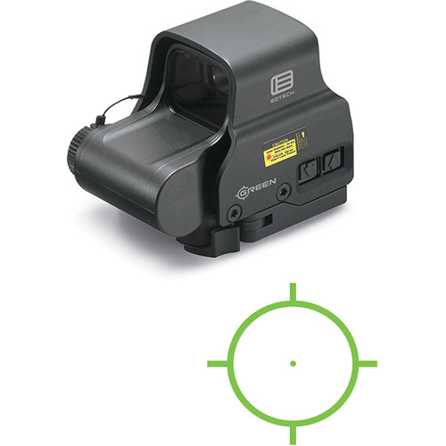 EOTech Model EXPS2 Holographic Weapon Sight (Green Circle-Dot Reticle)