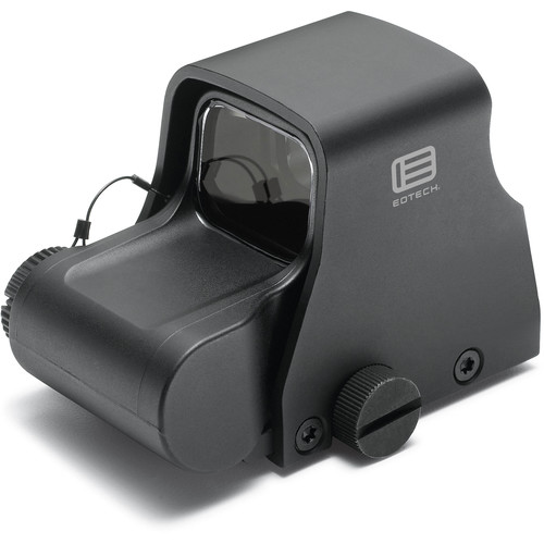 EOTech Model XPS2 Holographic Weapon Sight (Ring with Single Red Dot Reticle, Black)