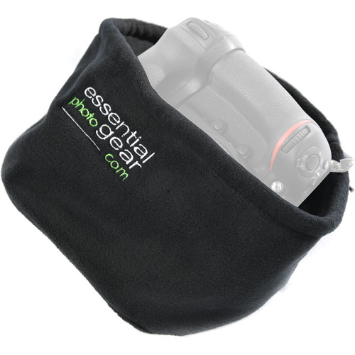 EPGear Polar Fleece Camera and Lens Cover (Black)