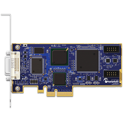 Epiphan DVI2PCIe PCIe x4 Video Capture Card with Dual-Link DVI Input