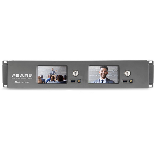 Epiphan Pearl-2 Rackmount Twin Video Production Device (2 RU)