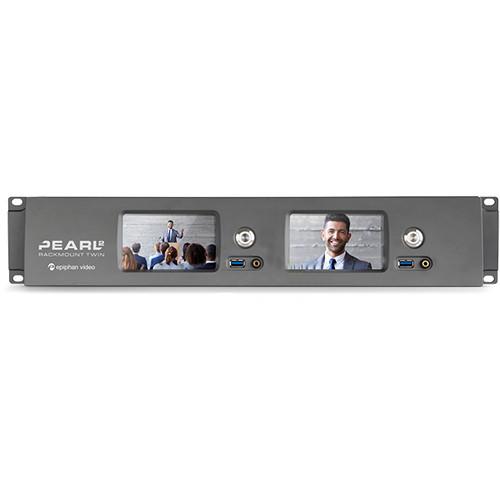 Epiphan Pearl-2 Rackmount Twin Video Production Device (2 RU)