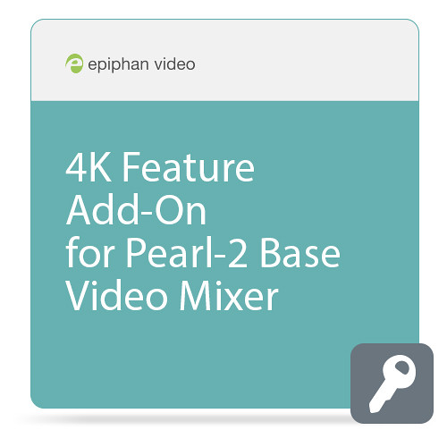 Epiphan 4K Feature Add-On for Pearl-2 Base Video Mixer