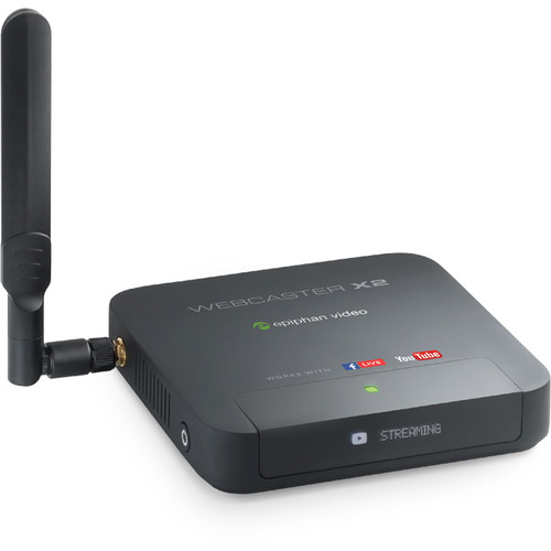 Epiphan Webcaster x2 Facebook Live and YouTube Encoder