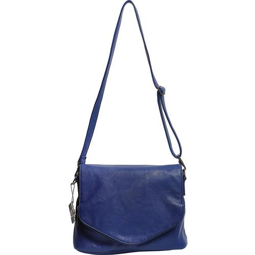 Epiphanie Charlotte Shoulder Bag (Cobalt with Beige Interior)