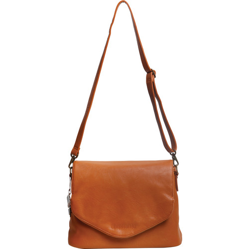 Epiphanie Charlotte Shoulder Bag (Burnt Orange with Beige Interior)
