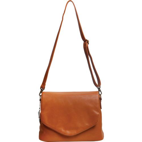 Epiphanie Charlotte Shoulder Bag (Burnt Orange with Beige Interior)