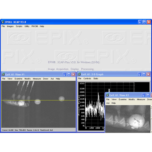 EPIX XCAP-Std Image Processing Software