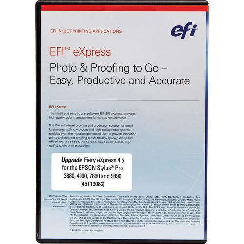 Epson Fiery EFI eXpress 4.5 Upgrade Kit DVD