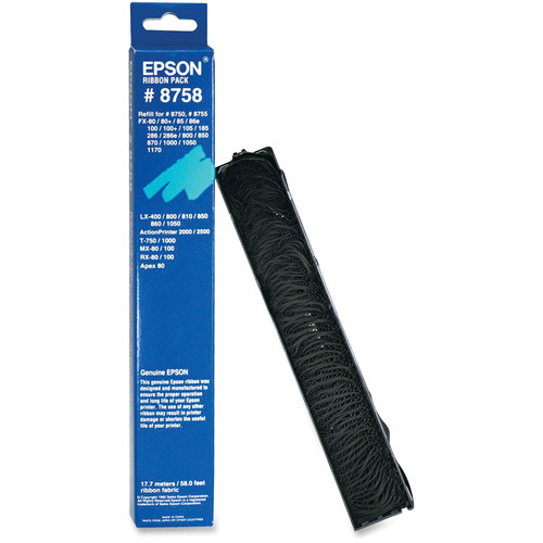 Epson 8758 Ribbon Replacement Pack