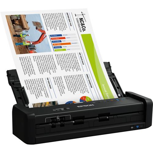 Epson WorkForce ES-300W Wireless Portable Duplex Document Scanner
