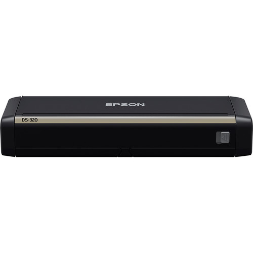 Epson ds 320 portable duplex document scanner b11b243201 bh for Best duplex document scanner