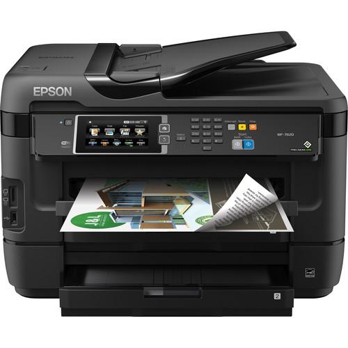 Epson WorkForce WF-7620 Wireless Color All-in-One Inkjet Printer