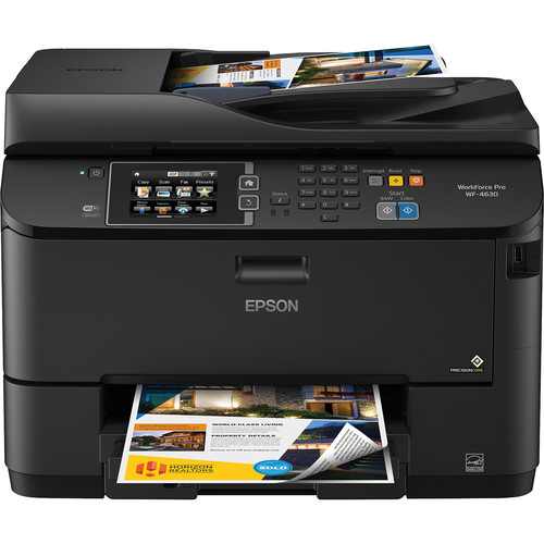 how to connect epson workforce 500 to computer