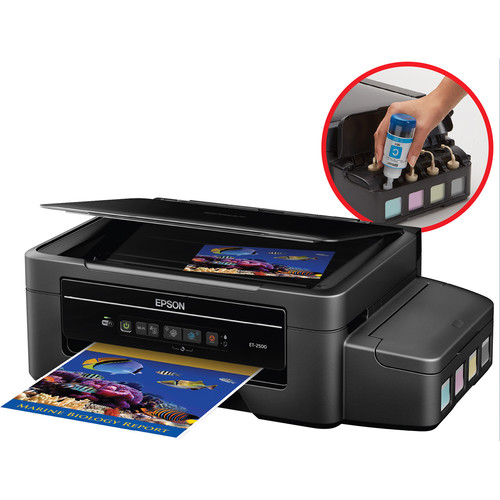 Epson Expression ET-2500 EcoTank All-in-One Inkjet Printer