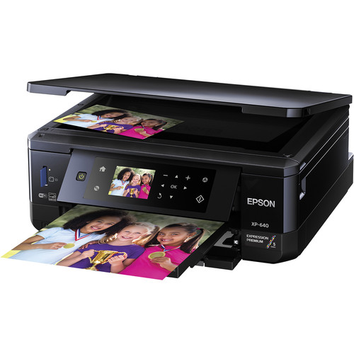 Epson Expression Premium XP-640 Small-in-One Inkjet Printer